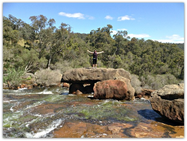 Next stop was Hovea Falls, again, this was not far along the trail.  I bet you are wondering what path I took across to this point??  OK, yes I did get my feet wet, doh!